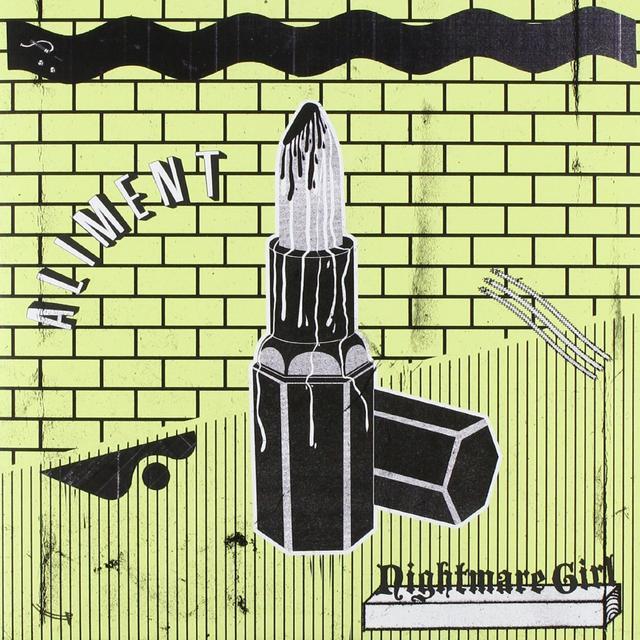 Aliment NIGHTMARE GIRL / CEMENTIRI Vinyl Record