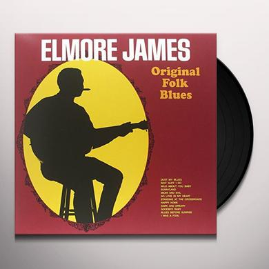 Elmore James ORIGINAL FOLK BLUES Vinyl Record - Limited Edition