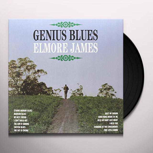 Elmore James GENIUS BLUES Vinyl Record - Limited Edition