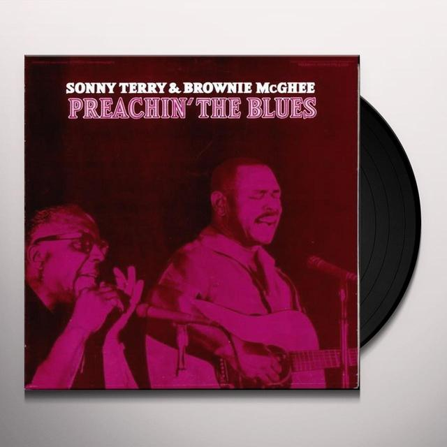 Sonny Terry / Brownie Mcghee PREACHIN THE BLUES Vinyl Record - Limited Edition