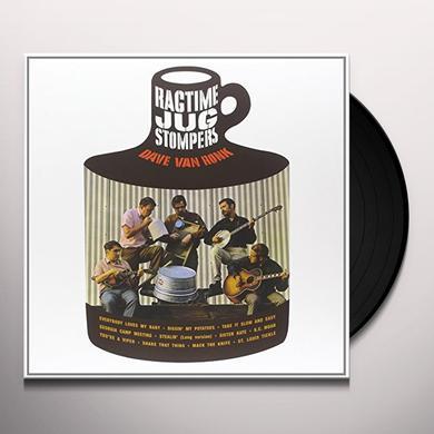 Dave Van Ronk RAGTIME JUG STOMPERS Vinyl Record