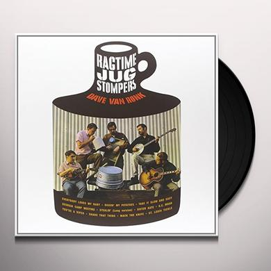 Dave Van Ronk RAGTIME JUG STOMPERS Vinyl Record - Limited Edition