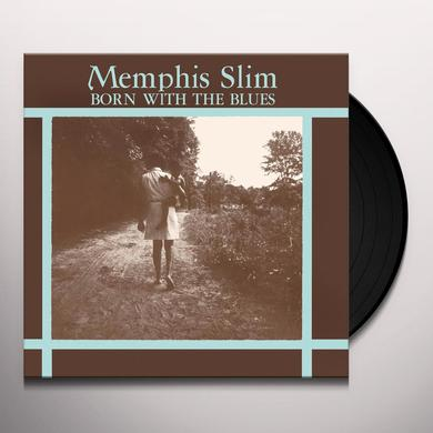 Memphis Slim BORN WITH THE BLUES Vinyl Record