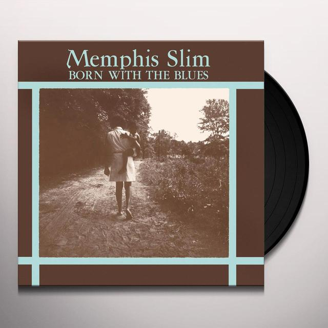 Memphis Slim BORN WITH THE BLUES Vinyl Record - Limited Edition