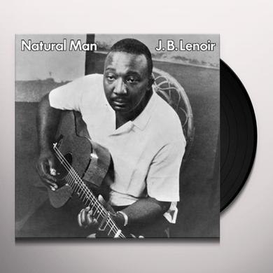 J.B. Lenoir NATURAL MAN Vinyl Record - Limited Edition