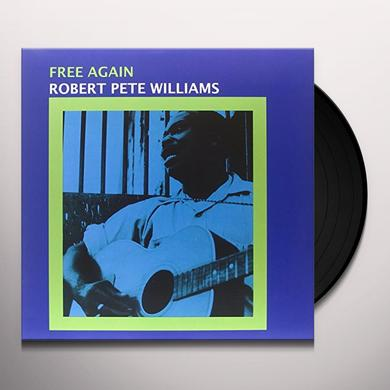 Robert Pete Williams FREE AGAIN Vinyl Record