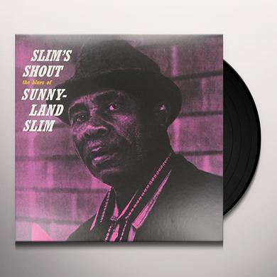 Sunnyland Slim SLIMS SHOUT Vinyl Record - Limited Edition
