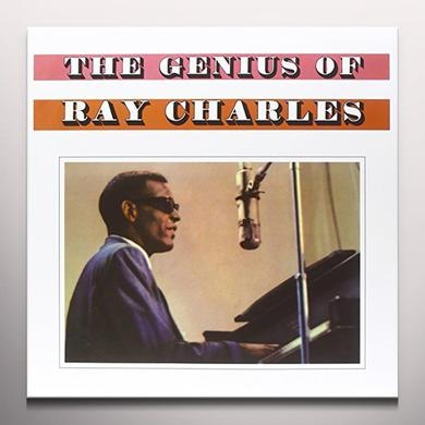 GENIUS OF RAY CHARLES Vinyl Record - Clear Vinyl, Limited Edition