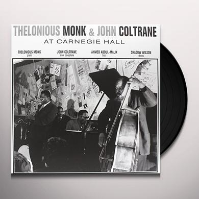 Thelonious Monk AT CARNEGIE HALL Vinyl Record