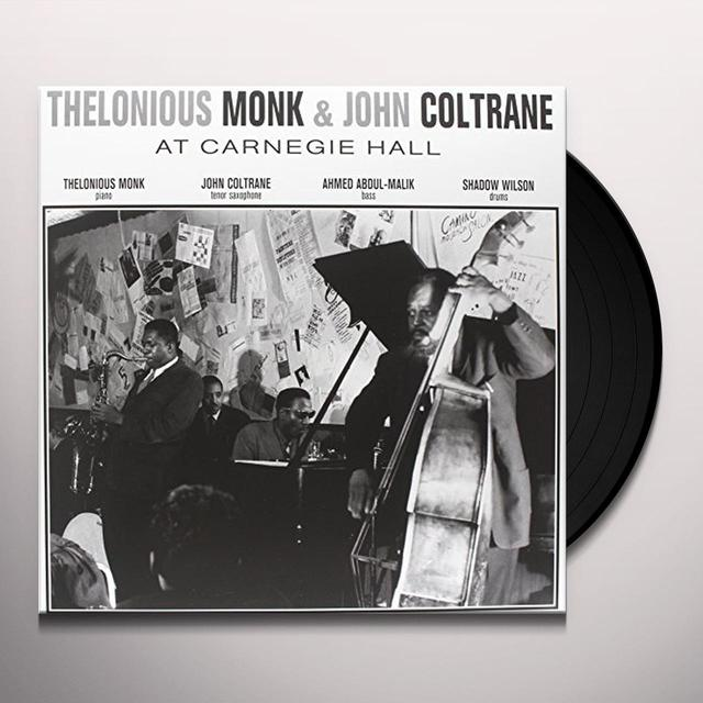 Thelonious Monk AT CARNEGIE HALL Vinyl Record - Limited Edition