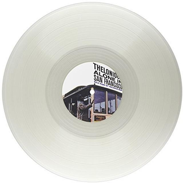 Thelonious Monk THELONIOUS ALONE IN SAN FRANCISCO Vinyl Record - Clear Vinyl, Limited Edition