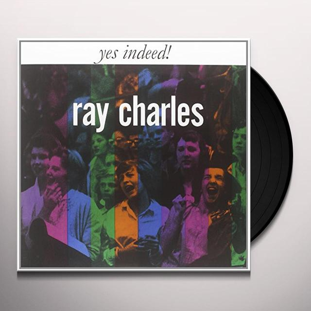 Ray Charles YES INDEED Vinyl Record