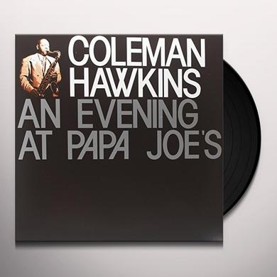 Coleman Hawkins EVENING AT PAPA JOES Vinyl Record - Limited Edition