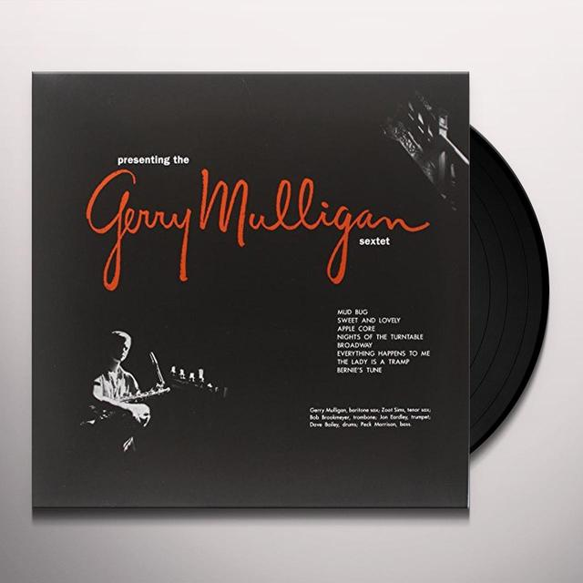 PRESENTING THE GERRY MULLIGAN SEXTET Vinyl Record - Limited Edition