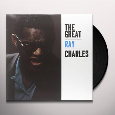 GREAT RAY CHARLES Vinyl Record - Limited Edition