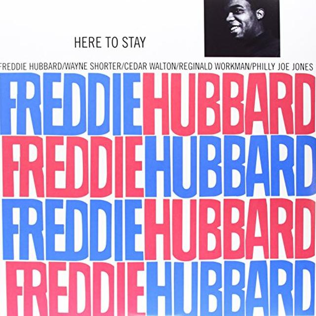 Freddie Hubbard HERE TO STAY Vinyl Record - Limited Edition