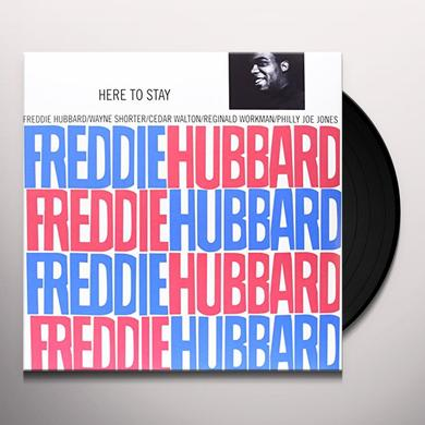 Freddie Hubbard HERE TO STAY Vinyl Record