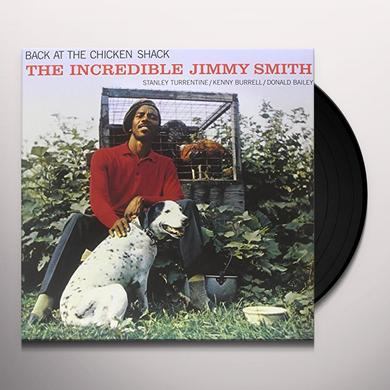 BACK AT THE CHICKEN SHACK: INCREDIBLE JIMMY SMITH Vinyl Record