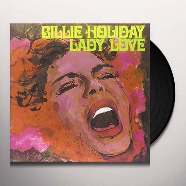 Billie Holiday LADY LOVE Vinyl Record - Limited Edition