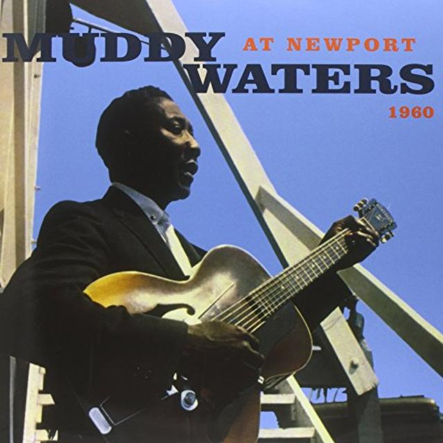 Muddy Waters AT NEWPORT 1960 Vinyl Record - Clear Vinyl, Limited Edition