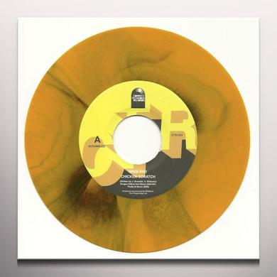 Spox Phd (Oxygen & Dj Spinna) CHICKEN SCRATCH Vinyl Record - Yellow Vinyl