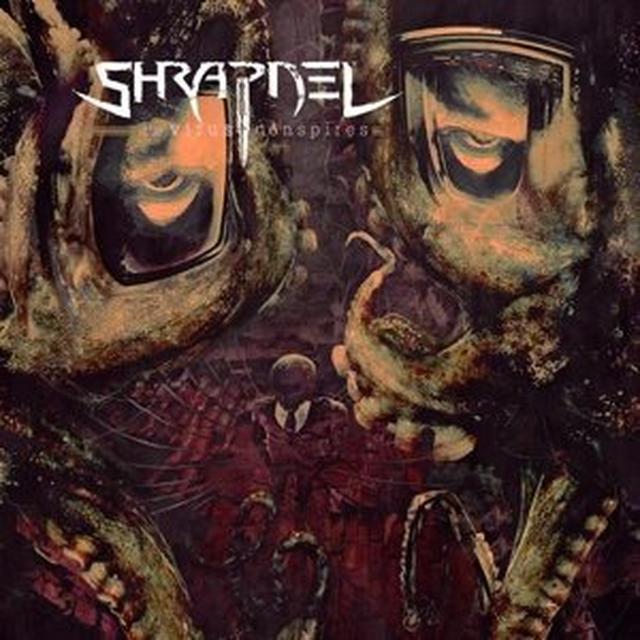 Shrapnel VIRUS CONSPIRES Vinyl Record - Limited Edition
