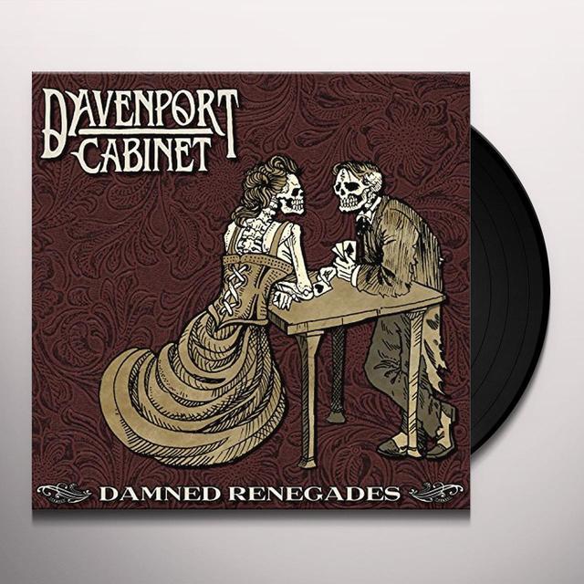Davenport Cabinet DAMNED RENEGADES Vinyl Record