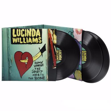 Lucinda Williams DOWN WHERE THE SPIRIT MEETS THE BONE Vinyl Record