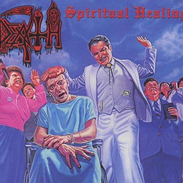 Death SPIRITUAL HEALING Vinyl Record - Reissue
