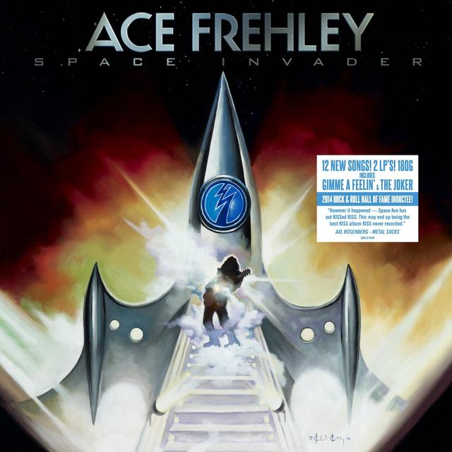 Ace Frehley SPACE INVADER Vinyl Record - Gatefold Sleeve, 180 Gram Pressing