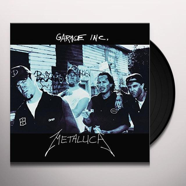 Metallica GARAGE INC Vinyl Record