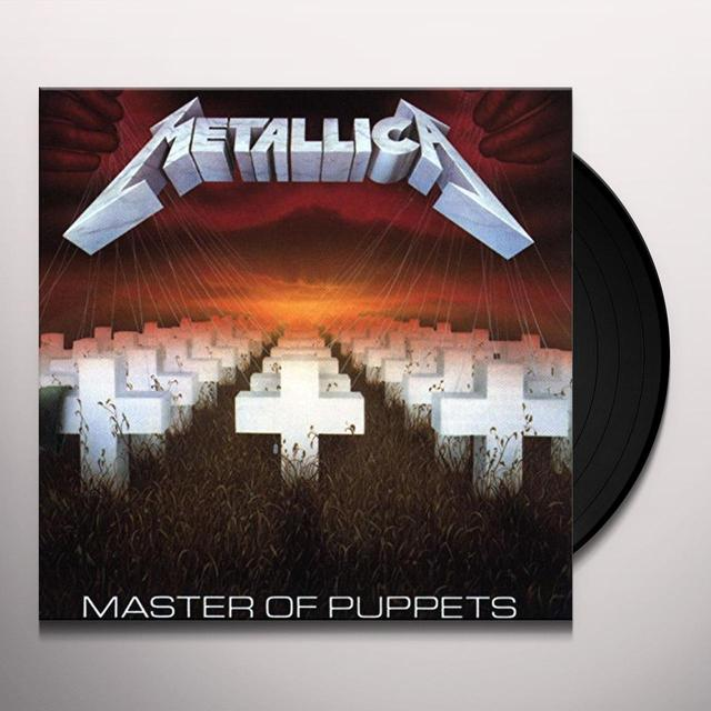 Metallica MASTER OF PUPPETS Vinyl Record