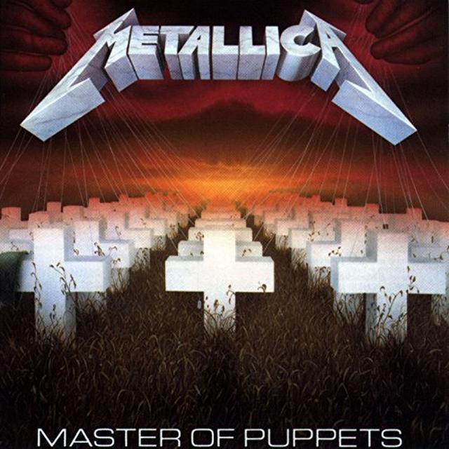 Metallica MASTER OF PUPPETS Vinyl Record