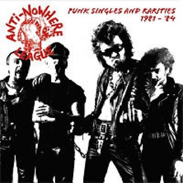 Anti-Nowhere League PUNK SINGLES 1980-84 Vinyl Record