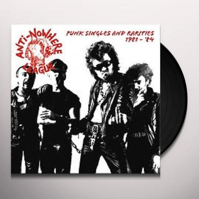 Anti-Nowhere League PUNK SINGLES 1980-84 Vinyl Record - Limited Edition