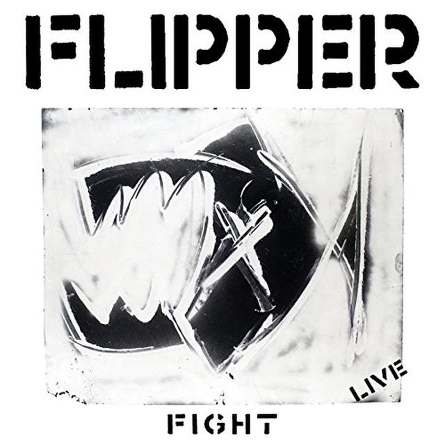 Flipper FIGHT (LIVE) Vinyl Record
