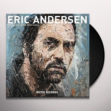 Eric Andersen SHADOW AND LIGHT OF ALBERT CAMUS Vinyl Record - 10 Inch Single, Gatefold Sleeve