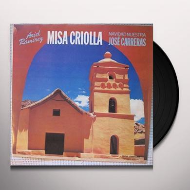 Jose Carreras ARIEL RAMIREZ : MISA CRIOLLA NAVIDAD NUESTRA Vinyl Record