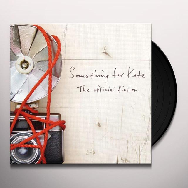 Something For Kate OFFICIAL FICTION Vinyl Record - Australia Import