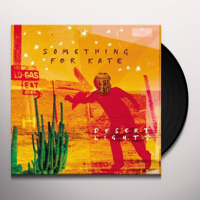 Something For Kate DESERT LIGHTS Vinyl Record - Australia Import