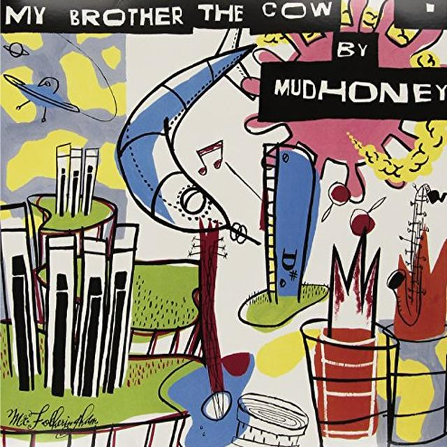 Mudhoney MY BROTHER THE COW Vinyl Record - Holland Import