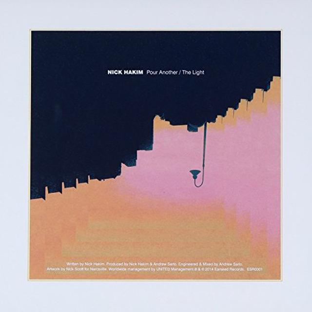 Nick Hakim POUR ANOTHER/THE LIGHT Vinyl Record - UK Release