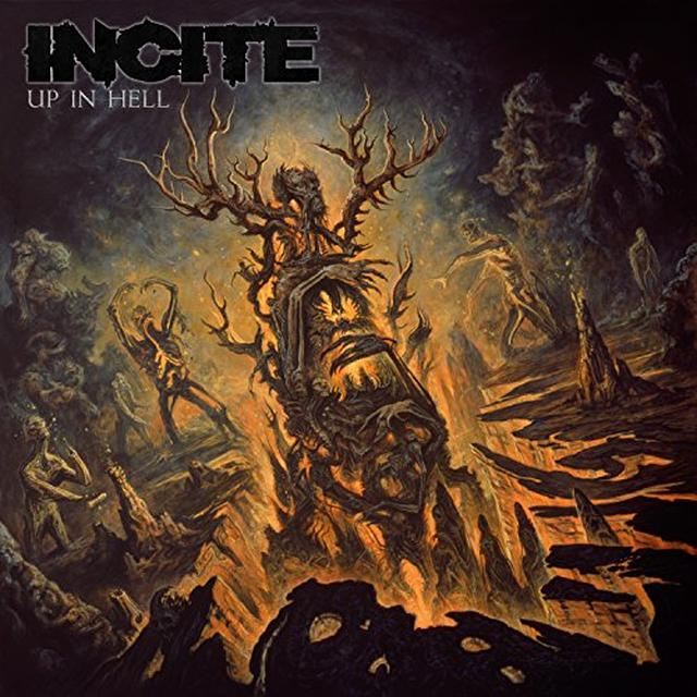 Incite UP IN HELL Vinyl Record