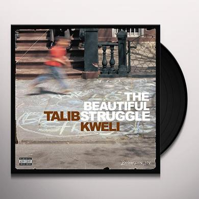 Talib Kweli BEAUTIFUL STRUGGLE Vinyl Record
