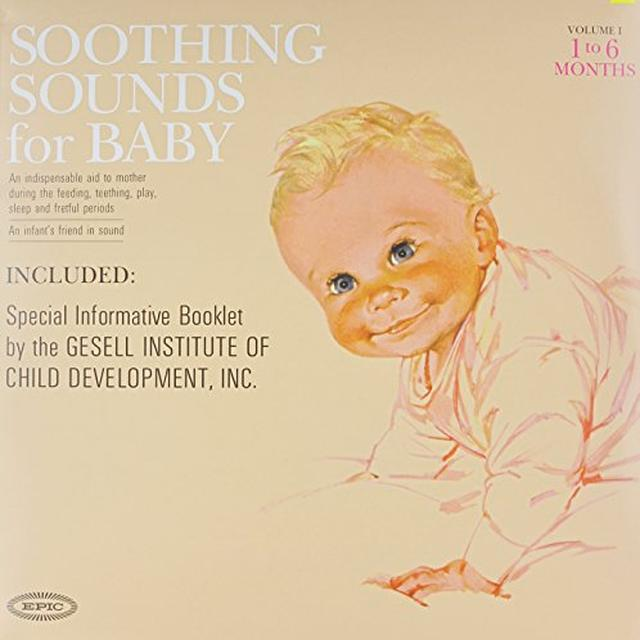 Raymond Scott SOOTHING SOUNDS FOR BABY (1963) Vinyl Record