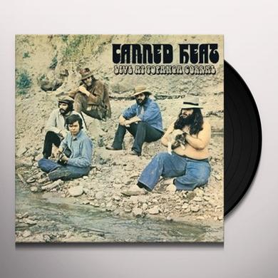 Canned Heat LIVE AT TOPANGA CORRAL Vinyl Record