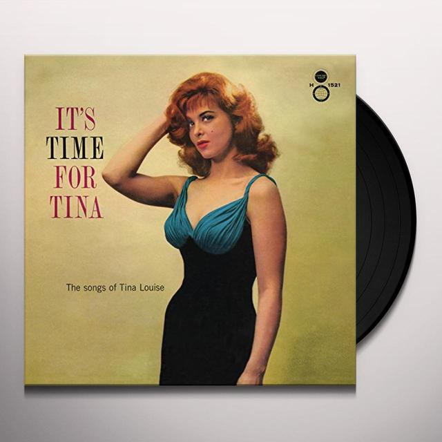 Tina Louise ITS TIME FOR TINA Vinyl Record