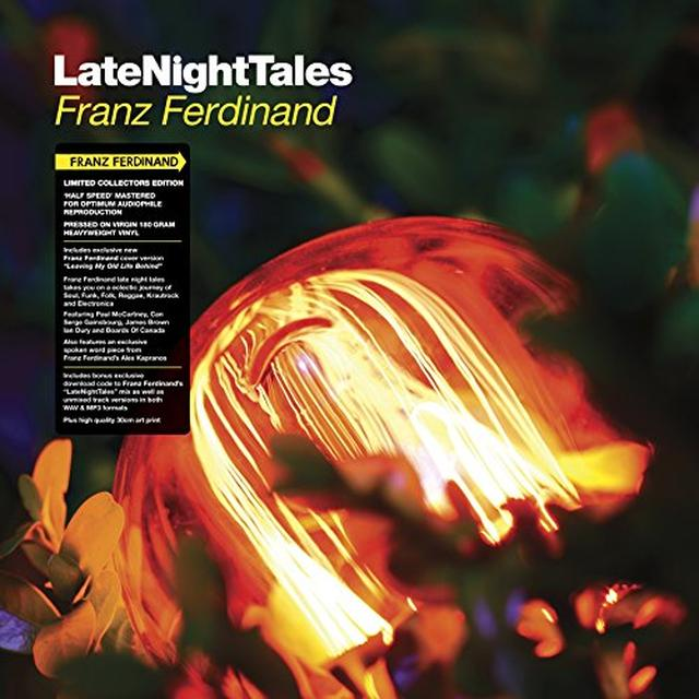 Franz Ferdinand LATE NIGHT TALES Vinyl Record - Black Vinyl, Gatefold Sleeve, 180 Gram Pressing, Digital Download Included