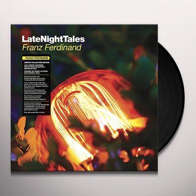 Franz Ferdinand LATE NIGHT TALES Vinyl Record - Black Vinyl, Gatefold Sleeve, 180 Gram Pressing, Digital Download Included