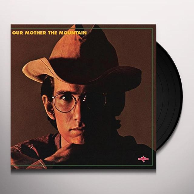 Townes Van Zandt OUR MOTHER THE MOUNTAIN (Vinyl)